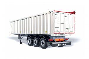 Solid son semirremolques basculantes de aluminio pensados para el transporte de múltiples cargas para graneles medios
